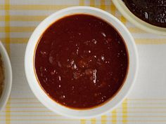 Kansas City-Style BBQ Sauce from FoodNetwork.com - This traditional Kansas City-style barbecue sauce is sweet and tomato-based, with spices mixed in for a little kick.