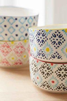 Ceramic Food Storage Bowl Set - Urban Outfitters