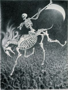 Laurie Lipton- Classical themes with modern interpretations.