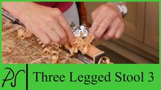 Making a Three Legged Stool 3 with Paul Sellers