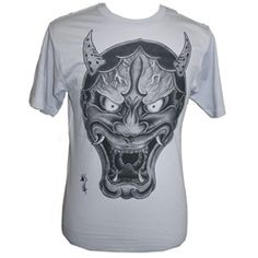 OG Hanya by Hori Yo Traditional Japanese Tattoo Art Men's T-Shirt. Hori Yo is a Japanese tattoo artist based in Los Angeles, California.    Preshrunk silver or gray tee. Premium 100% cotton fabric with a soft design touch and quality printing techniques. We love our art, and want it to last.