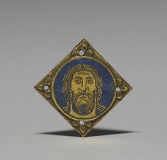 Plaque from a Shrine 1180-1185 champlevé enamel on copper with gilding Accession # 44.603 1 9/16 x 1 9/16 x 1/8 in. (3.9 x 3.9 x 0.3 cm) Rhineland, Germany Walters Art Museum, Baltimore, Maryland