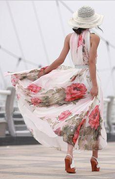 Floral Print  Dress.