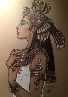 Cleopatra by Rvalenzuela80 on Deviantart