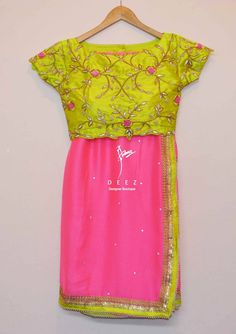 Deez Designer Boutique. Designer saree with blouse. Contact : 095429 78845. 02 February 2017