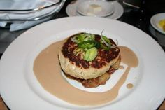 Crab Cakes Recipe served at Coral Reef Restaurant in EPCOT at Disney World #disney #epcot