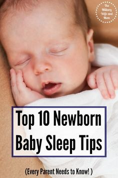Baby not sleeping well? LOVE this baby sleep tips to help!