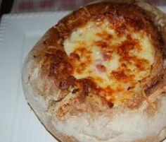 Receita Pão com Chouriço e Queijo por vandapinela - Categoria da receita Entradas