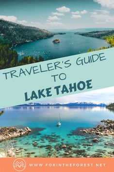 Insider's guide to visiting Lake Tahoe. Planning a vacation to Lake Tahoe. Tips for visiting Lake Tahoe. Be in the know with this local's travel guide to Lake Tahoe. Usa Travel Guide, Travel Usa, Travel Guides, Travel Tips, Travel Local, Solo Travel, Travel Deals, Asia Travel, Places To Travel