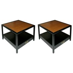 1stdibs | Pair of Lamp Tables by Michael Taylor for Baker
