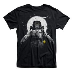 Space Monkey Astronaut T-shirt