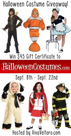 HalloweenCostumes.com giveaway