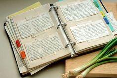 Как сохранить рецепт! Как создать свою книгу рецептов! — Кулинарная книга - рецепты, фото, отзывы