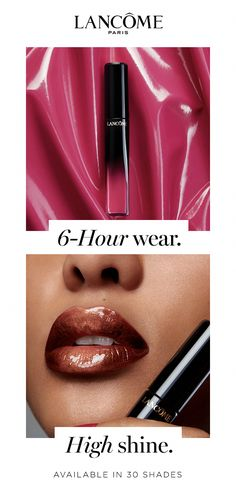 b1fb65e95df Your make-up, your rules. Build your shine with L'Absolu Lacquer