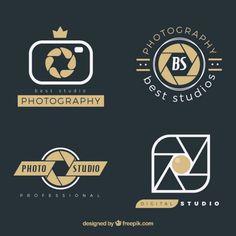 Pacote logos fotografia                                                                                                                                                     Mais Camera Logo, Camera Icon, Logo Foto, Photo Logo, Brand Identity Design, Branding Design, Film Logo, Wedding Logo Design, Photographer Logo