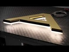 Three-in-one channel letter bending machine - YouTube
