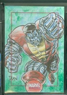 2014 Marvel Universe • Colossus • Don Mark Noceda Sketch Card