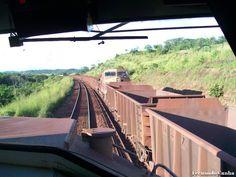 * Estrada de Ferro Carajás * Brasil. Trem de Minério com 332 Vagões.