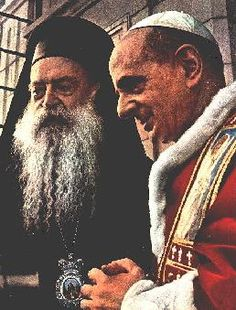 Pope Francis announces papal visit to Holy Land.... (photo: historic meeting between Pope Paul VI and Patriarch Athenagoras, which took place on January 5th, 50 years ago). I wish to announce that from 24 to 26 May 2014, God willing, I will make a pilgrimage to the Holy Land.