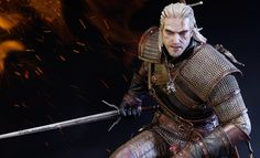 Share this with your friends and receive a $15 promo code. Click here to write your message. The Witcher 3: Wild Hunt Geralt of Rivia Polystone Statue