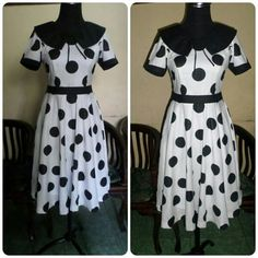 Wariza MODES Dress vintage..