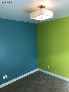 A Surprise Color Consultation and Kitchen Design Plan verde quarto masculino A Surprise Color Consultation & Kitchen Design Plan - Room for Tuesday