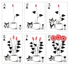 Kitten Club Playing Cards artiphany.com