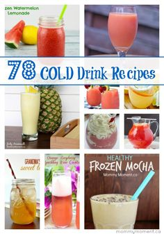 78 Cold Drink Recipes