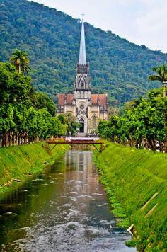 Catedral de Sao pedro de alcantara - Petropolis Brazil.