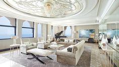 Waldorf Astoria Ras Al Khaimah Hotel, UAE - Imperial Suite Living Room