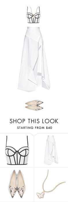 """""""Infinity"""" by yourmajestyjordine ❤ liked on Polyvore featuring Topshop, Michael Lo Sordo and Sophia Webster"""