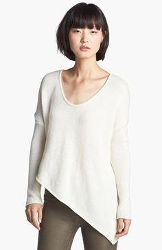 HELMUT Helmut Lang Asymmetrical Hem Sweater
