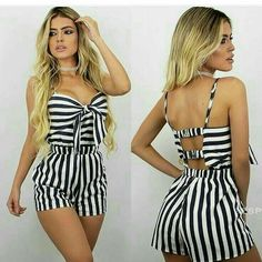 Mod Girl, Actrices Sexy, Summer Outfits, Cute Outfits, Summer Crop Tops, Chor, Playsuits, Beachwear, Fashion Dresses