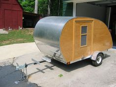 Grizz-Pod Teardrop Trailer - The Completed Build. | Retro Rides