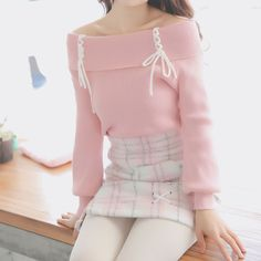 Pastel Outfit, Teen Fashion Outfits, Girly Outfits, Cute Casual Outfits, Cute Fashion, Pretty Outfits, Skirt Outfits, Fashion Styles, Simple Outfits
