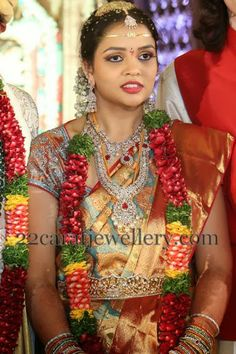 Jewellery Designs: CMD Daughter Tejaswini Wedding