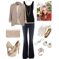 outfit, created by jill-hammel on Polyvore