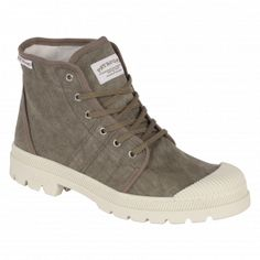 Tennis & Sneakers montantes authentique boots toile - chaussures homme - Pataugas