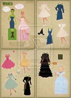 Wicked Paper Dolls by Cor104
