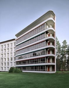 Alvar Aalto . Sanatorium . Paimio (7)
