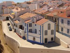 Sines, Portugal, visited in Spring 2000