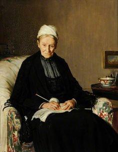 Mrs Stephen Ellis Todd (1837–1936) Frederick William Elwell (1870–1958) Beverley Art Gallery