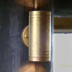 ELITE 2 udendørs LED-væglampe af messing-3048224-31