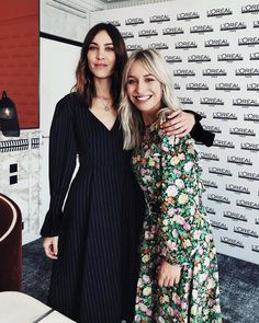 """Yara Michels on Instagram: """"""""I love your dress!"""" """"We could be hair twins!"""" 🙋🏼👸🏻 - basically grown up code for 'let's be friends', right? Thanks @alexachung for the fun…"""""""