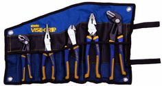 IRWIN Tools VISE-GRIP Pliers Set, 5-Piece Traditional and GrooveLock with Tool Wrap (1802536) by Irwin Tools