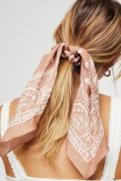 Bandana Scarf Pony | Free People