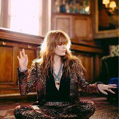 Florence Welch x Billboard Magazine 2016 Glam Rock, Fleetwood Mac, Stevie Nicks, Florence Welch Style, Florence Welch Hair, Looks Style, My Style, Style Personnel, Look Street Style