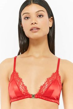 Forever 21 is the authority on fashion & the go-to retailer for the latest trends, styles & the hottest deals. Swat, Shop Forever, Forever 21, Satin Bralette, F21, Women Lingerie, Lounge Wear, Lace Trim, Latest Trends