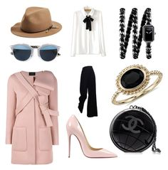 """""""Detailed Essentials"""" by m-1-k9 on Polyvore featuring The Row, rag & bone, Christian Dior, Christian Louboutin, Blue Nile, Chanel, WithChic, Simone Rocha, women's clothing and women's fashion"""