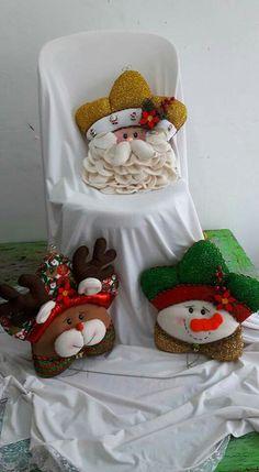 Felt Christmas, Christmas Stockings, Christmas Ornaments, Christmas Cushions, Felt Crafts, Ideas Para, Quilts, Pillows, Holiday Decor
